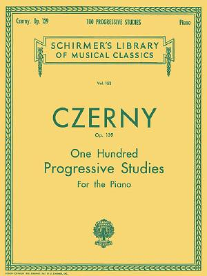 100 Progressive Studies Without Octaves For The Piano By Czerny, Carl (COP)/ Vogrich, Max (CRT)